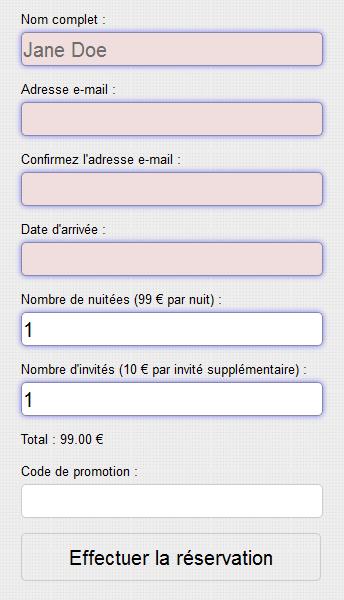 exemple de site en html