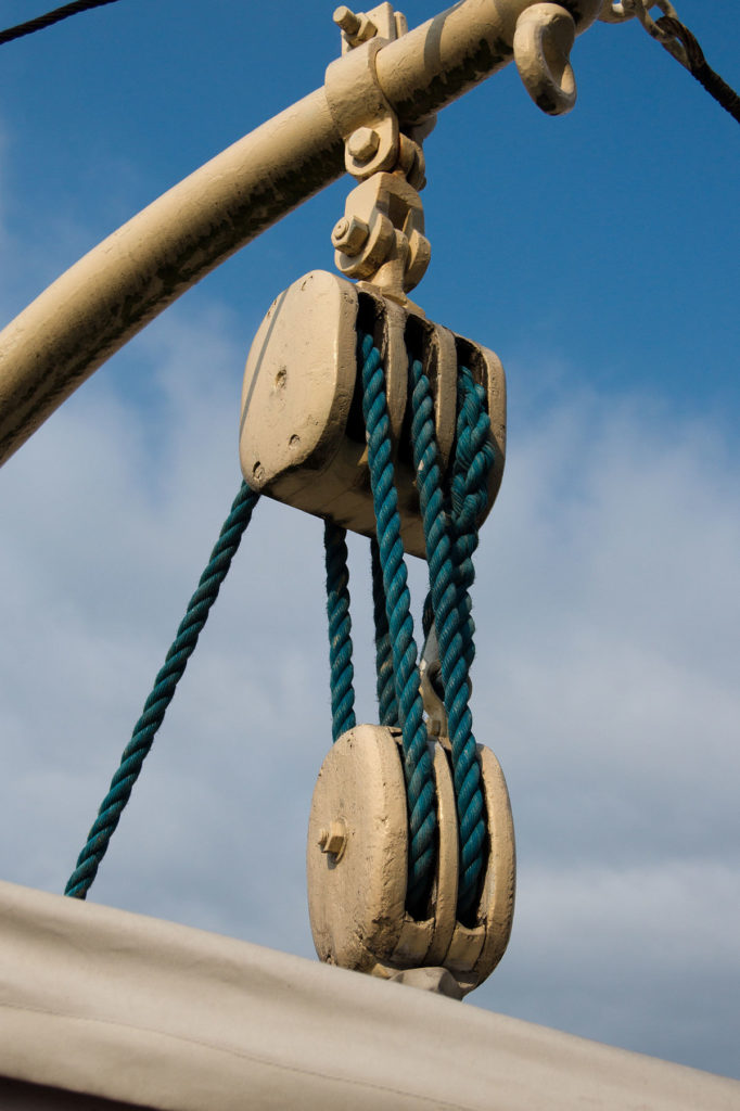 double poulie pour corde