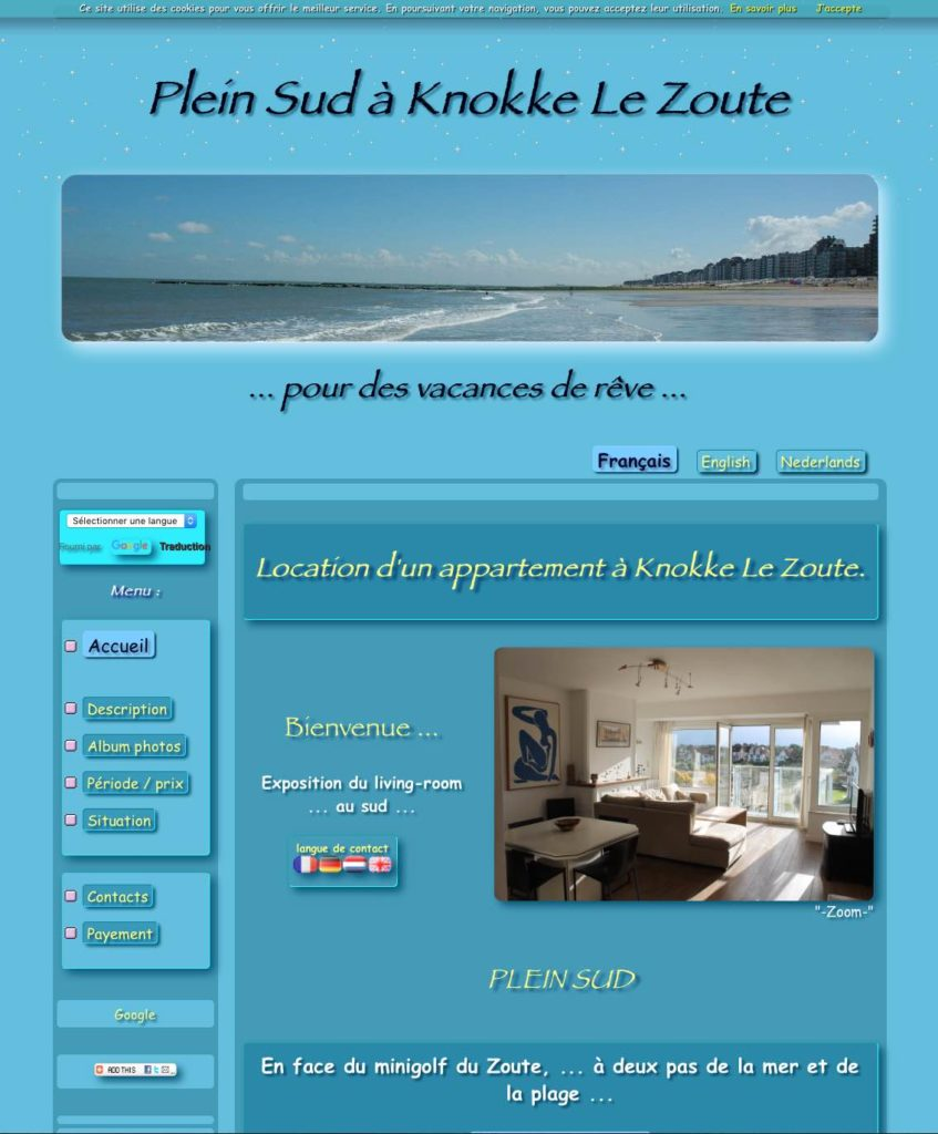 site web html exemple