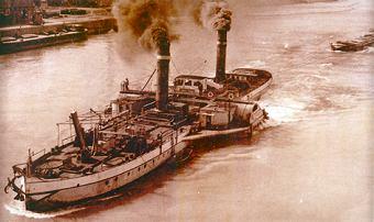 bateau a vapeur