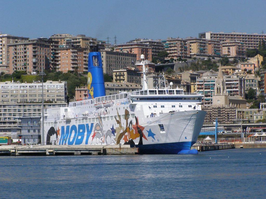 bateau italie corse