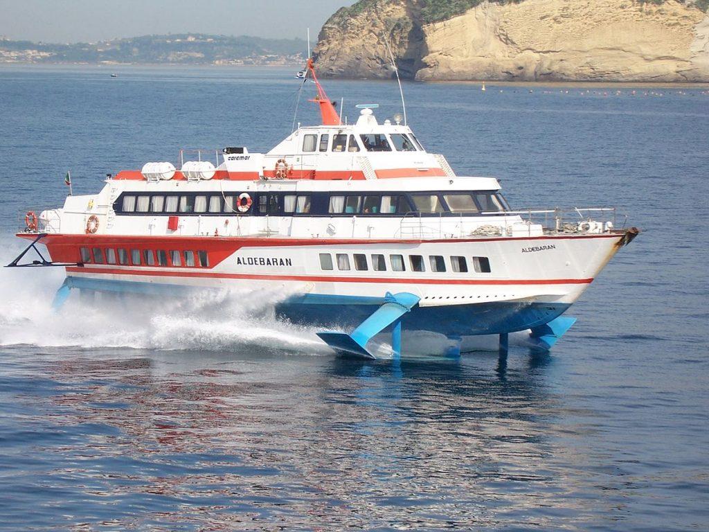 bateau naples capri