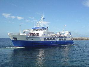 bateau vedette