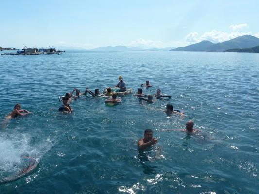 bouée de sauvetage bateau