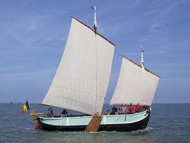 ancien bateau a voile
