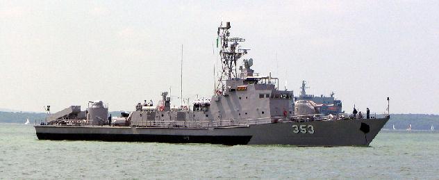 bateau de guerre grec