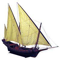 bateau xvi siècle