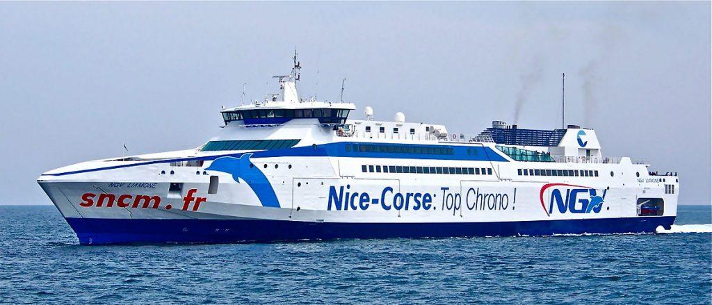 bateau ferry corse