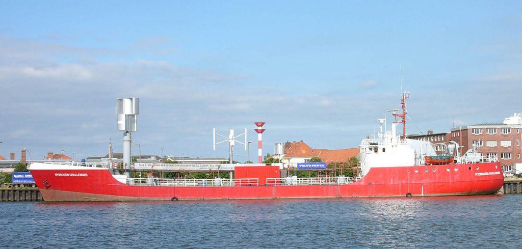 bateau a hydrogène