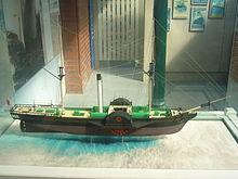 bateau a vapeur wikipedia