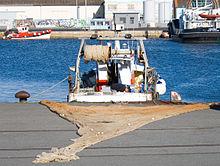 pêche a la traine bateau