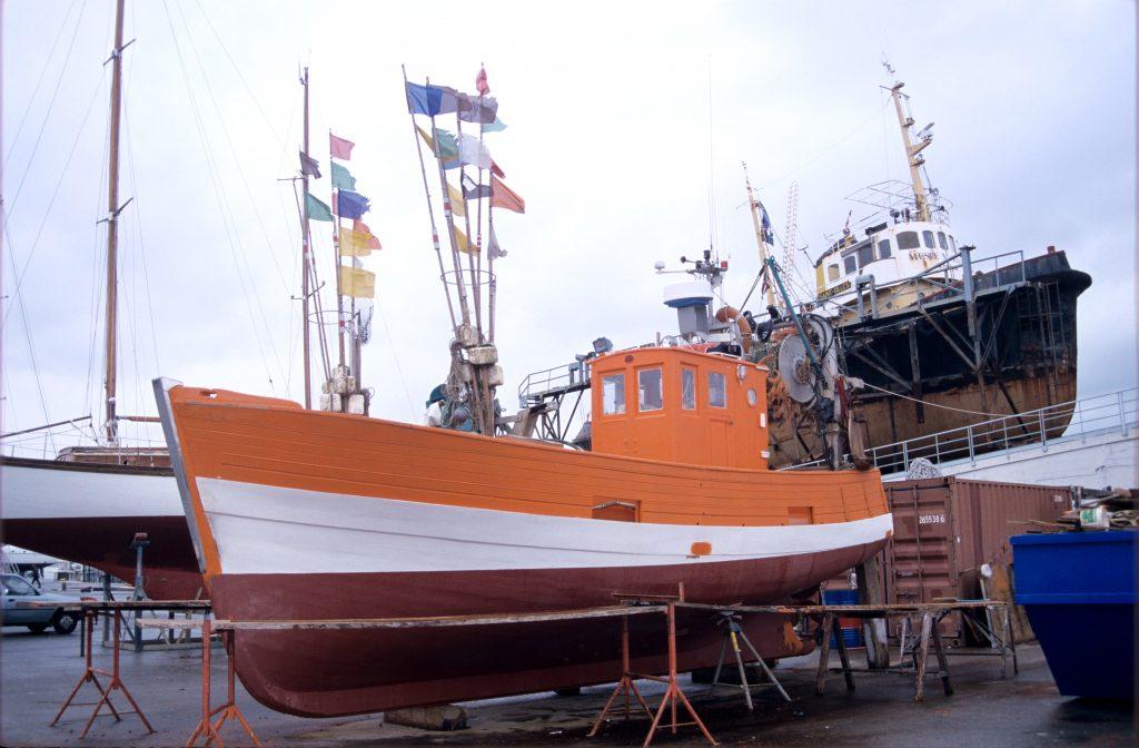 réparation coque bateau