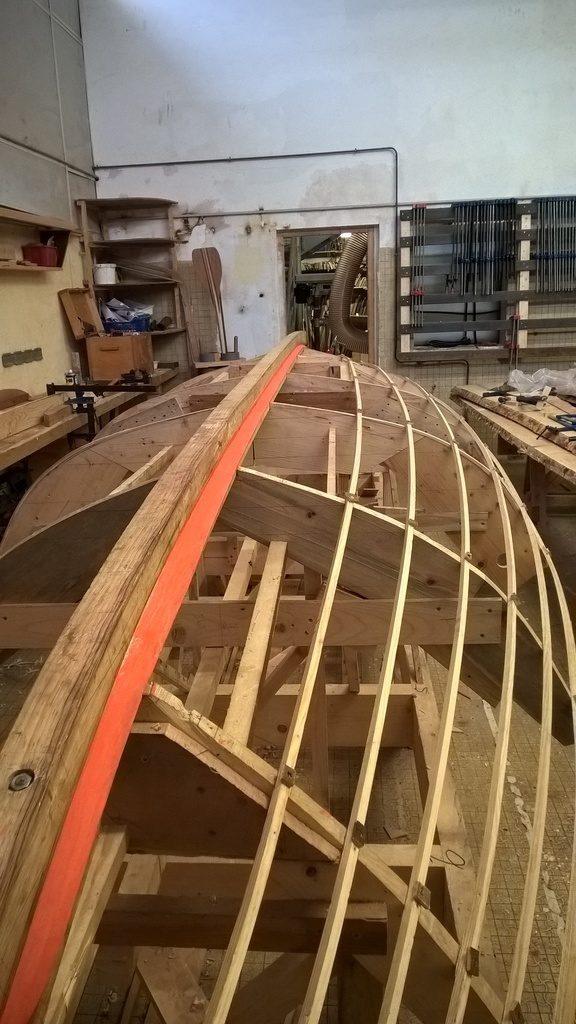 réparer une coque de bateau
