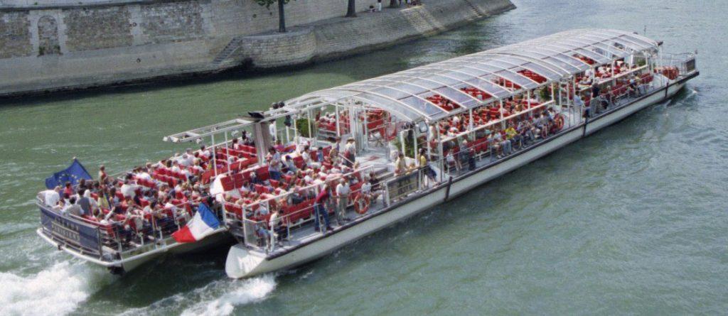 restaurant bateau seine