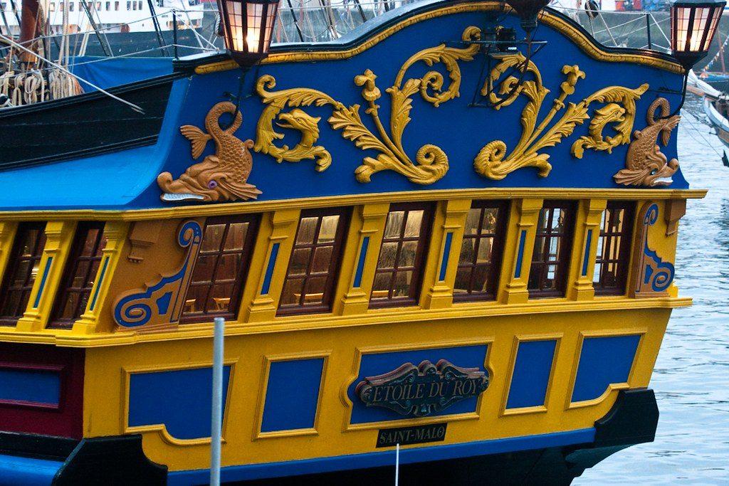 bateau corsaire saint malo