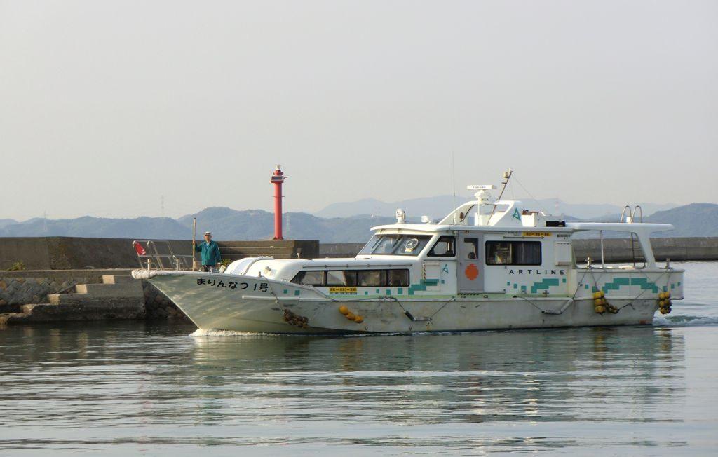 bateau en mer en direct