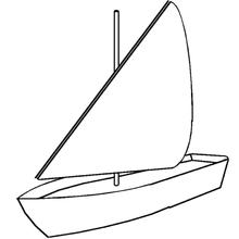 bateau pirate a dessiner