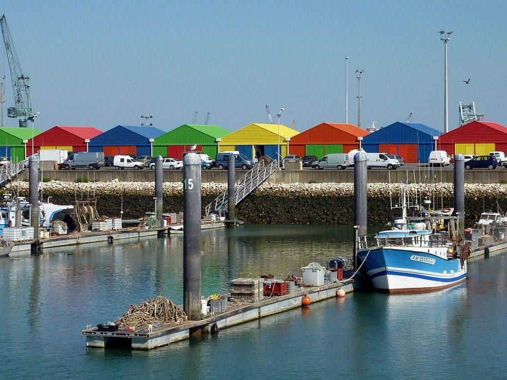 photos bateaux pêche au port