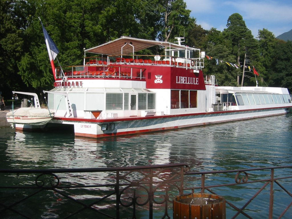 bateau libellule annecy
