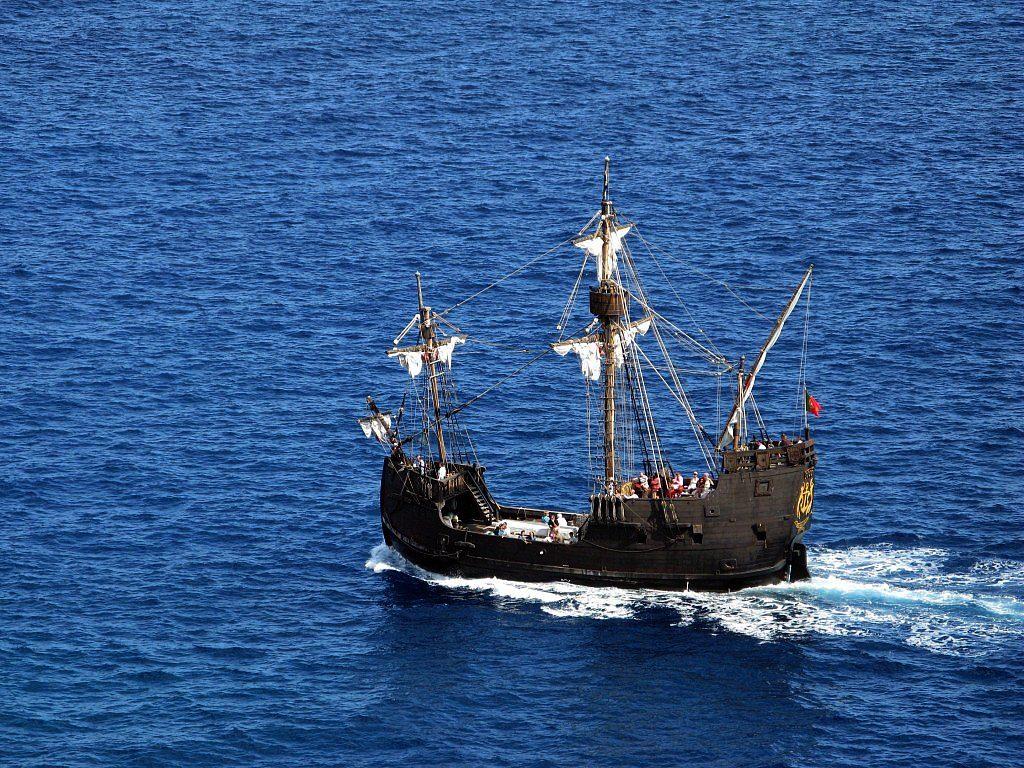 bateau christophe colomb la nina