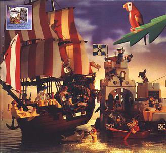 bateau lego pirate